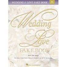 Hal Leonard Wedding & Love Fake Book 5th Edition