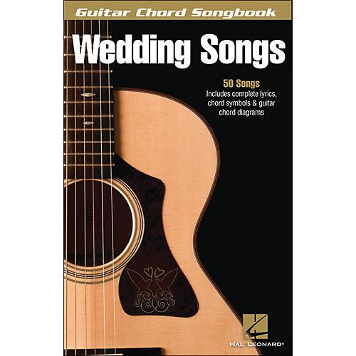 Hal Leonard Wedding Songs - Guitar Chord Songbook