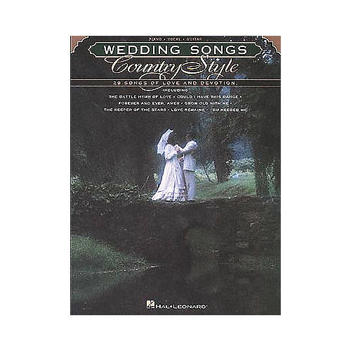 Hal Leonard Wedding Songs Country Style Piano/Vocal/Guitar Songbook-thumbnail