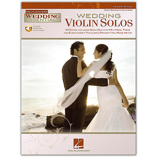 Hal Leonard Wedding Violin Solos - Wedding Essentials Series Book/Online Audio