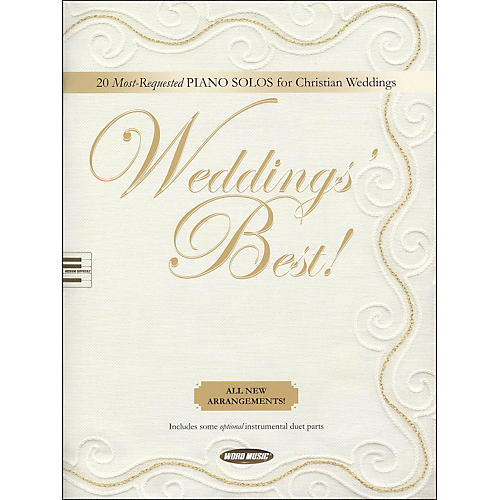Word Music Weddings' Best arranged for piano solos-thumbnail