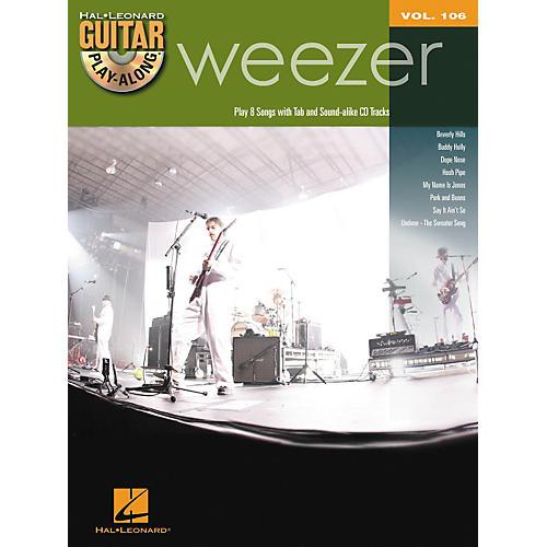 Hal Leonard Weezer - Guitar Play-Along Volume 106 Book/CD