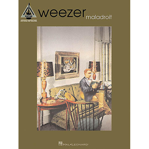 Hal Leonard Weezer Maladroit Guitar Tab Songbook-thumbnail