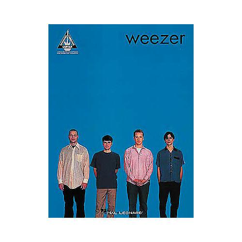 Hal Leonard Weezer Self Titled Album Guitar Tab Songbook