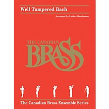 Hal Leonard Well Tampered Bach Brass Ensemble Series by Johann Sebastian Bach Arranged by Luther Henderson