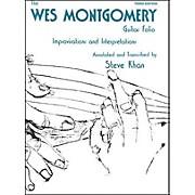 Jamey Aebersold Wes Montgomery Guitar Folio