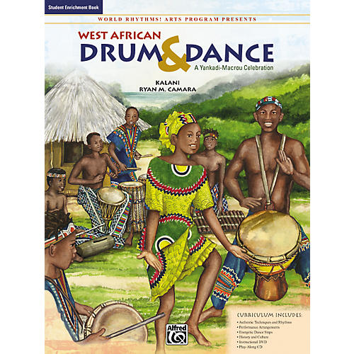 Alfred West African Drum & Dance: A Yankadi-Macrou Celebration - Student Book-thumbnail