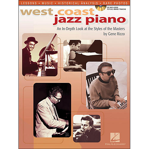 Hal Leonard West Coast Jazz Piano An In-Depth Look At The Style Of The Masters Book/CD-thumbnail