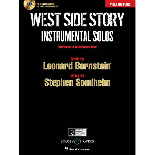 Boosey and Hawkes West Side Story Instrumental Solos Instrumental Series Softcover with CD