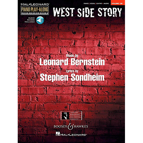 Boosey and Hawkes West Side Story Piano Play-Along Vol. 130 Book/Online Audio