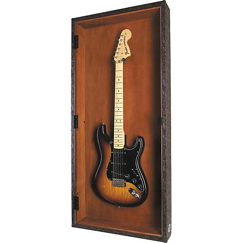 Display and Play Western Electric Guitar Display Case