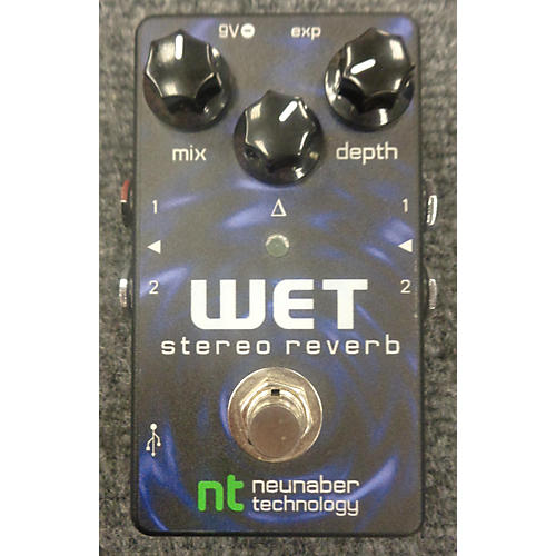 In Store Used Wet Stereo Reverb Effect Pedal-thumbnail