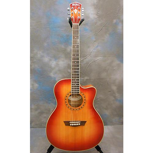 Washburn Wg7sce Acoustic Electric Guitar