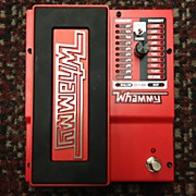 Digitech Whammy Pitch Shifting Double Bass Drum Pedal
