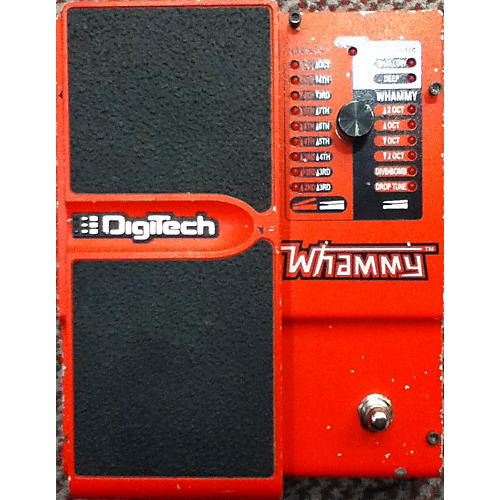 Digitech Whammy Pitch Shifting Red Effect Pedal