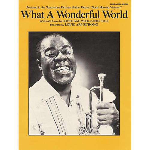 Hal Leonard What A Wonderful World