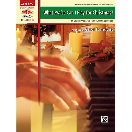 Alfred What Praise Can I Play for Christmas? Book-thumbnail