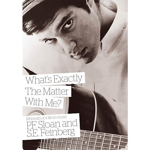Jawbone Press What's Exactly the Matter with Me? (Memoirs of a Life in Music) Book Series Softcover by P.F. Sloan
