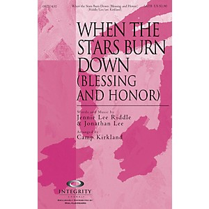 Integrity Choral When the Stars Burn Down Blessing and Honor CD ACCOMP Ar...