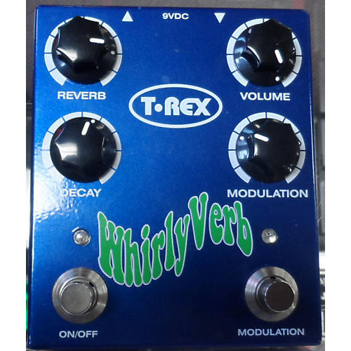 T-Rex Engineering Whirlyverb Blue Effect Pedal Blue