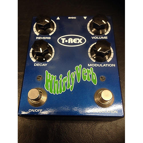 T-Rex Engineering Whirlyverb Reverb Effect Pedal-thumbnail