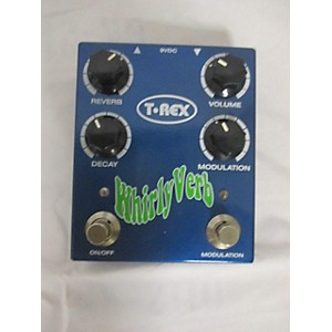 Pre-owned T-Rex Engineering Whirlyverb Reverb Effect Pedal by T Rex Engineering