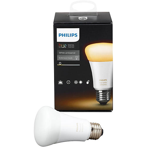Philips Hue White Ambiance A19 Single Bulb-thumbnail