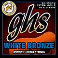 GHS White Bronze Extra Light Acoustic-Electric Strings thumbnail