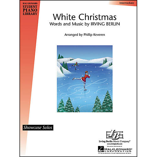 Hal Leonard White Christmas Intermediate Hal Leonard Student Piano Library by Phillip Keveren