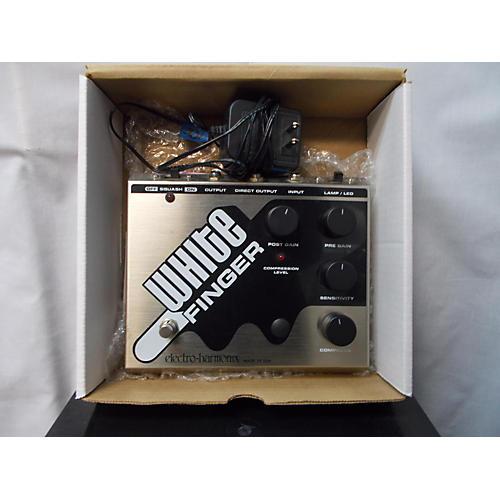 Electro-Harmonix White Finger Compressor Effect Pedal-thumbnail