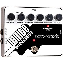 Electro-Harmonix White Finger XO Compressor Guitar Effects Pedal Level 1