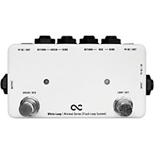 One Control White Loop Flash 2-Channel Switcher Pedal
