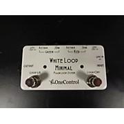 One Control White Loop Minimal Pedal