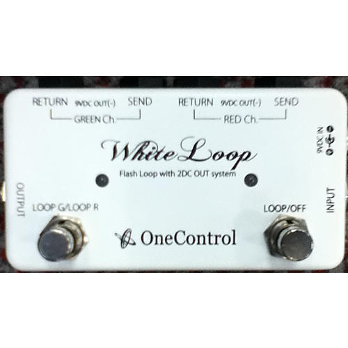 In Store Used White Loop Pedal