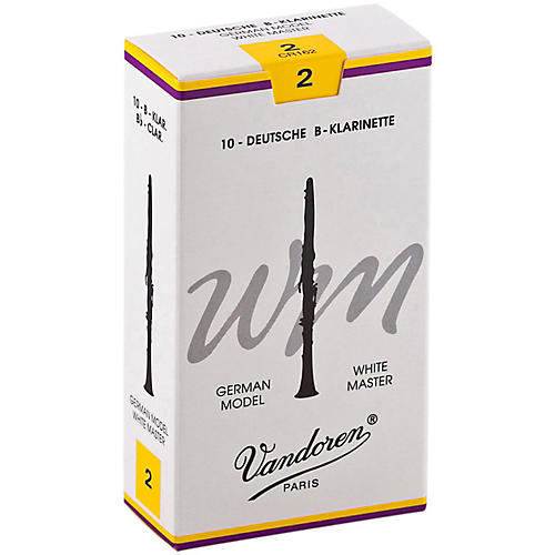 Vandoren White Master Bb Clarinet Reeds-thumbnail