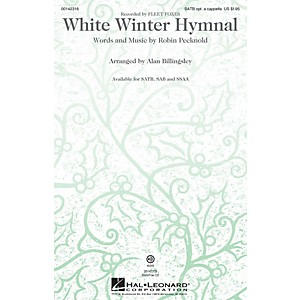 Hal Leonard White Winter Hymnal ShowTrax CD by Fleet Foxes Arranged by Alan... by Hal Leonard
