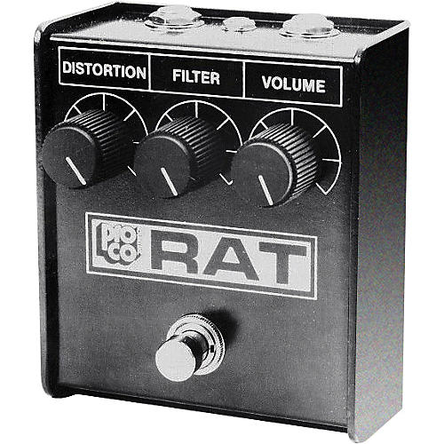 Pro Co Whiteface Rat Distortion Guitar Effects Pedal