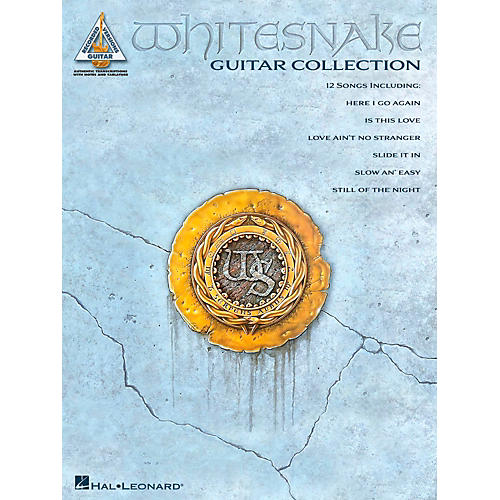 Hal Leonard Whitesnake Guitar Collection Guitar Tab Songbook