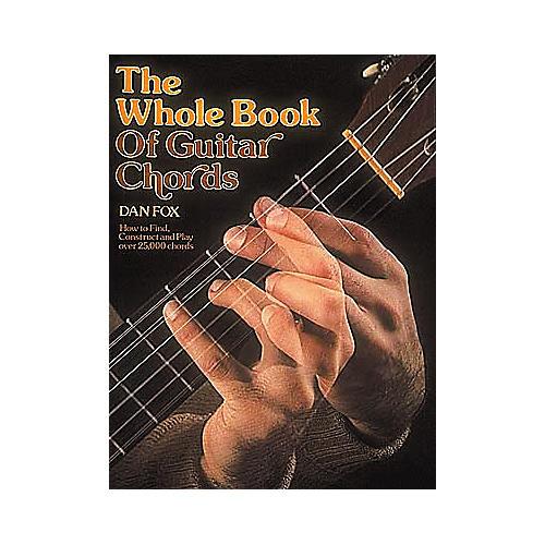 G. Schirmer Whole Book of Guitar Chords Book-thumbnail