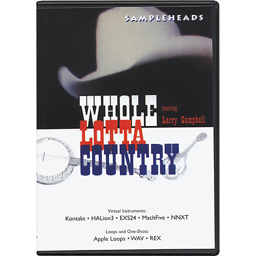 Big Fish Whole Lotta Country Audio Loops