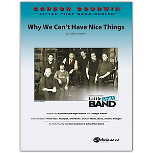 BELWIN Why We Can't Have Nice Things Conductor Score 6 Professional / Very... by BELWIN