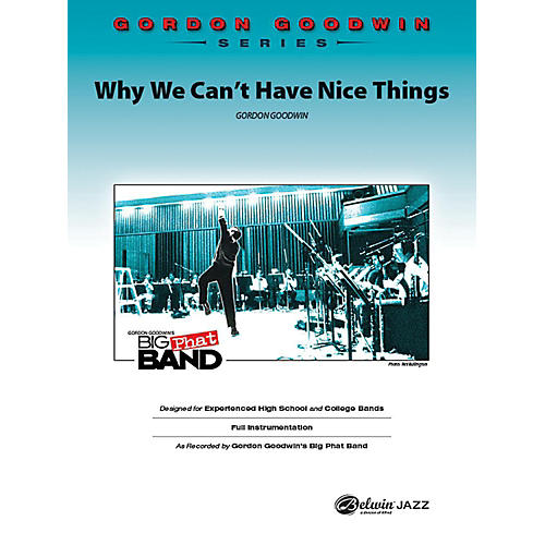 Alfred Why We Can't Have Nice Things Jazz Band Grade 6 Set-thumbnail