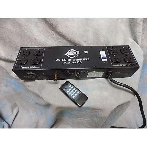 ADJ WiTECH 8 WIRELESS ON/OFF CONTROLLER Lighting Controller-thumbnail