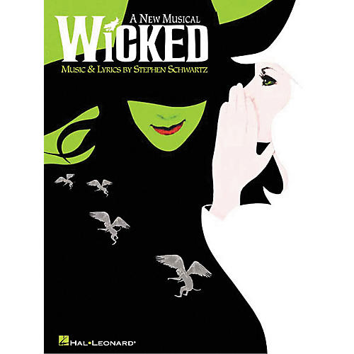 Hal Leonard Wicked Piano Vocal Songbook-thumbnail