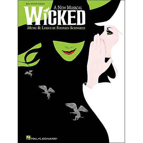 Hal Leonard Wicked for Big Note Piano-thumbnail
