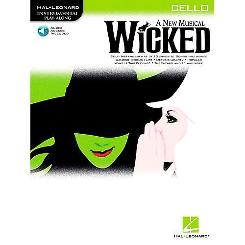 Hal Leonard Wicked for Cello Book/Online Audio