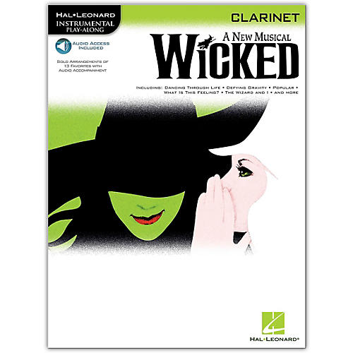 Hal Leonard Wicked for Clarinet Book/Online Audio