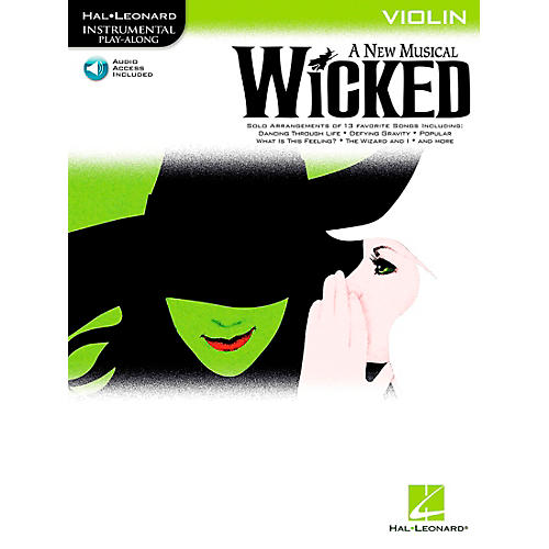 Hal Leonard Wicked for Violin Book/CD-thumbnail