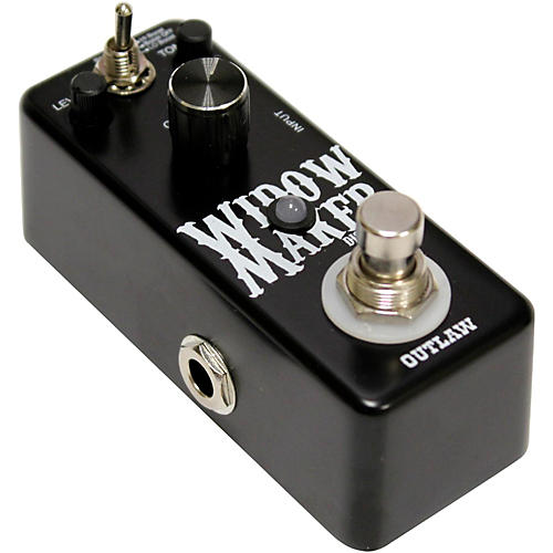 Outlaw Effects Widow Maker Metal Guitar Distortion Pedal-thumbnail