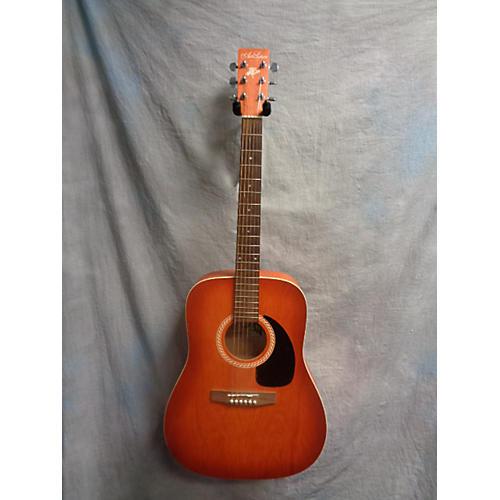 Art & Lutherie Wild Cherry Cherry Sunrise Acoustic Guitar
